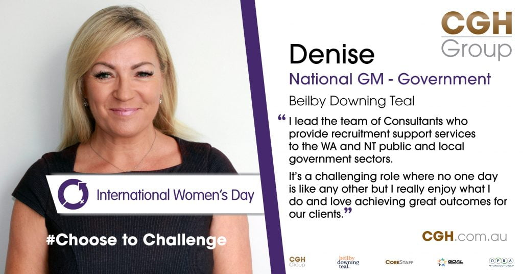 IWD 2021 - Choose to Challenge Denise Wetherall 1